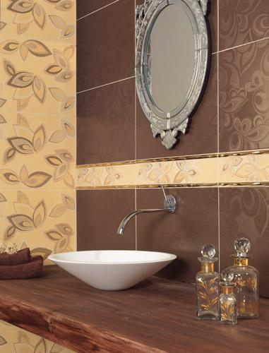 Decorado Carey Moka 31,6*45 в интерьере
