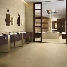 Коллекция Travertino Floor Project фабрики Italon в интерьере