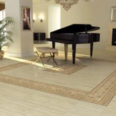Плитка Travertino Floor Tiles фабрики Undefasa в интерьере