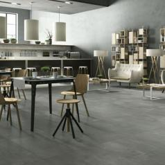 Коллекция Creative Concrete фабрики Imola Ceramica в интерьере