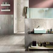 Mosaico Mix Travertino Teseera в интерьере