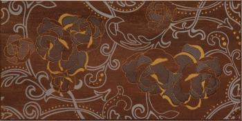 Керамические декоры Azulejos Alcor Dec.SALZBURGO ELEGANCE MARRON 20х40