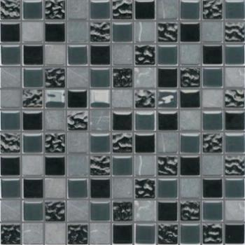 Керамическая мозаика Piranesi Stone & Glass Series SG104 мозаика (2,5х2,5) 30х30