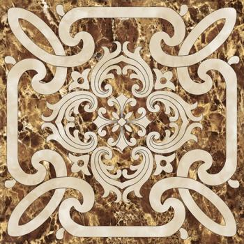 Керамические декоры Infinity Ceramic Emperador Decor Imperiale 1 Marron 60х60