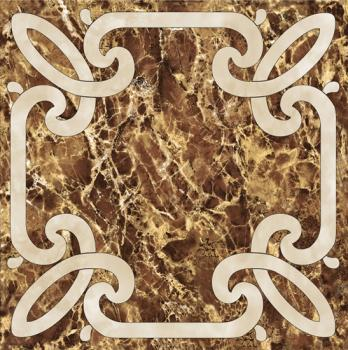 Керамические декоры Infinity Ceramic Emperador Decor Imperiale 2 Marron 60х60