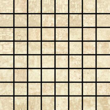 Керамическая мозаика Love Ceramic ROYALE Mosaico Travertino Bianco 17,4*17,4