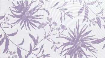 Керамические декоры Supergres Tresor Neige Camp. Fiore Lilas 25*45