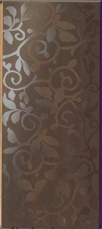 Керамические декоры Impronta Italgraniti E_motion EN06DB Brown Wallpaper decoro 24х55