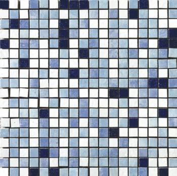 Керамическая мозаика Cir Serenissima In tinta Mosaico Mix Mini Tessera Blu 30х30