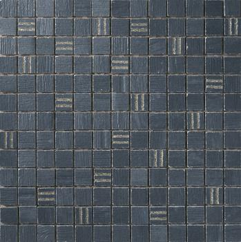 Керамическая мозаика Cir Serenissima Timber city Mosaico City Gold Blu 30,4x30,4