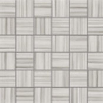 Керамическая мозаика La Fabbrica Fifth avenue Mosaico Stripes Koan Lapp. e Rett. 30х30