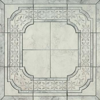 Керамическое панно Vallelunga Pietra Romana Avorio Border Decor 90x90