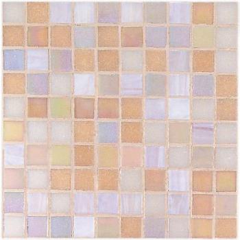 Стеклянная мозаика Vitrex Mosaico vetroso (project plus bronze mix) Мозаика P2 Rosa 32,5x32,5