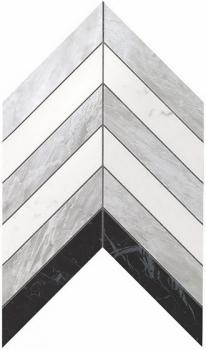 Мозаика ATLAS CONCORDE MARVEL STONE Chevron Mix Wall 25х30,5