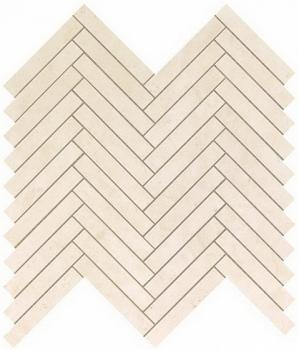 Керамическая мозаика Мозаика ATLAS CONCORDE MARVEL STONE Cream Prestige Herringbone Wall 30,5х30
