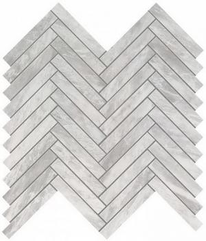 Керамическая мозаика Мозаика ATLAS CONCORDE MARVEL STONE Bardiglio Grey Herringbone Wall 30,5х30