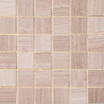Каменная мозаика Colori Viva Natural Stone Mos. Light Wooden Vein  Polished 30.5х30.5