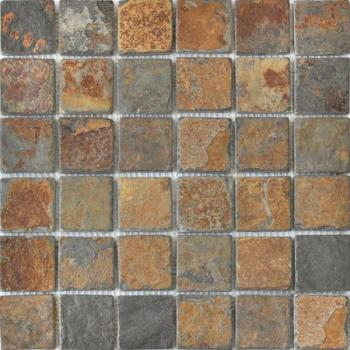 Каменная мозаика Colori Viva Natural Stone Mos.Nat.China Rusty 30.5х30.5