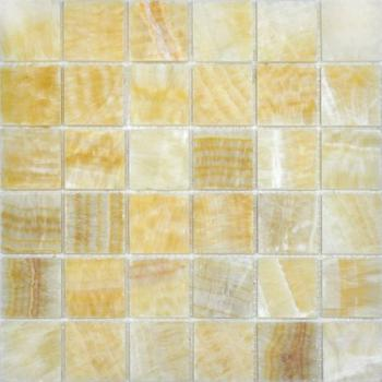 Каменная мозаика Colori Viva Natural Stone Mos.Polished Golden Oniyx 30.5х30.5