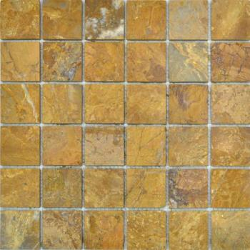 Каменная мозаика Colori Viva Natural Stone Mos.Polished Golden Travertin 30.5х30.5