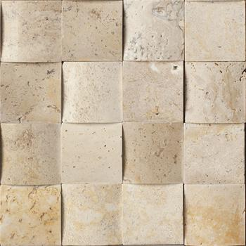 Каменная мозаика Colori Viva Natural Stone Mos.Polished Travertine  30.5x30.5 30.5х30.5