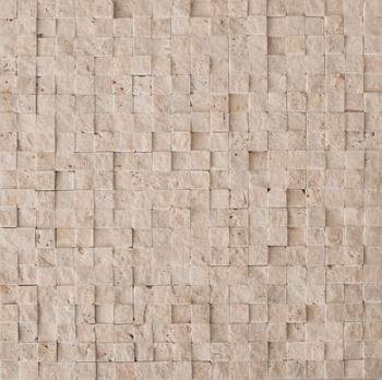 Каменная мозаика Colori Viva Travertino Mos.Turkish Travertine Split 30.5х30.5