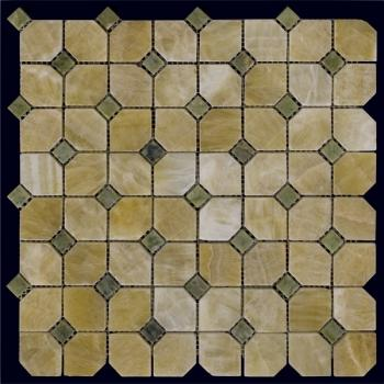 Каменная мозаика Natural Mosaic Octagon-2 Мозаика Octagon - 2 M073+M068-DP9 30,5x30,5