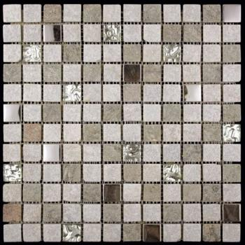 Стеклянная мозаика Natural Mosaic MIXES KOBE (KBE) KBE-02 (KB11-E02) 30,3х30,3