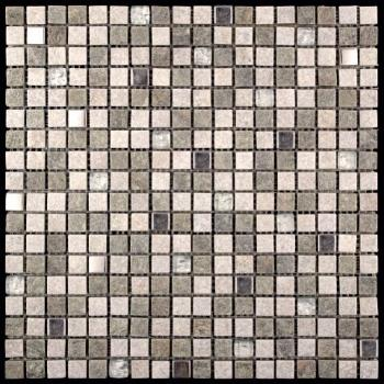 Стеклянная мозаика Natural Mosaic MIXES KOBE (KBE) KBE-05 (KB11-E05) 30,3х30,3