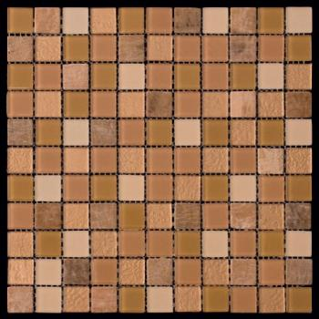 Стеклянная мозаика Natural Mosaic MIXES MADRAS (MSD) MSD-006 (PST-06) 30x30