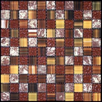 Стеклянная мозаика Natural Mosaic MIXES MADRAS (MSD) MSD-036 (FW-36) 30х30