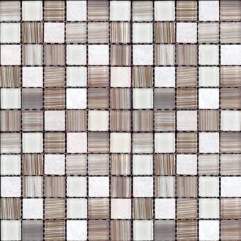 Стеклянная мозаика Natural Mosaic MIXES MADRAS (MSD) MSD-428 (MSDH-428) 30х30