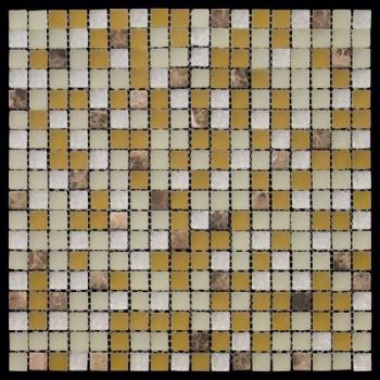 Стеклянная мозаика Natural Mosaic MIXES PASTEL (PST) PST-003 29,8x29,8