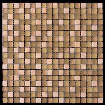 Стеклянная мозаика Natural Mosaic MIXES PASTEL (PST) PST-317 (GS-2317) 29,8x29,8