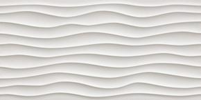 Настенная плитка  Atlas Concorde 3D Wall Design Dune White Matt 40x80 (8DUW)