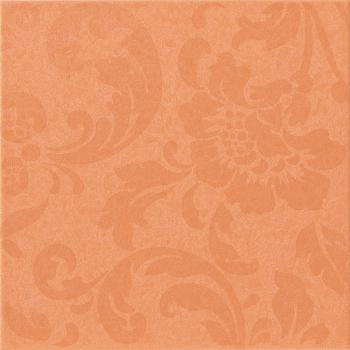 Керамические декоры Atlas Concorde Декор FANCY ORANGE DAMASK PALE, 20x20