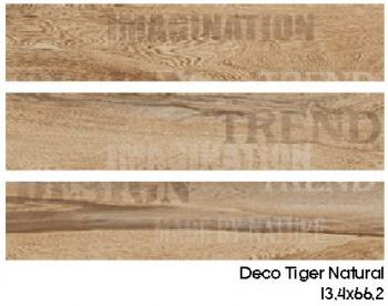 Матовый керамогранит Gayafores DECO TIGER NATURAL 13,4x66,2