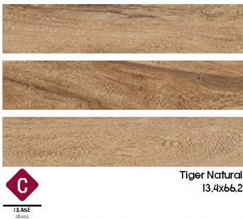 Матовый керамогранит Gayafores TIGER NATURAL 13,4x66,2
