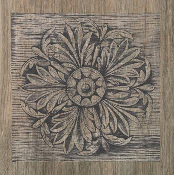 Керамические декоры Iris FRENCHWOODS Carve Larch Formella 20x20