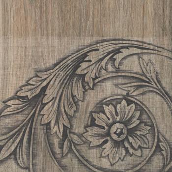 Керамические декоры Iris FRENCHWOODS Curly Larch Formella 20x20