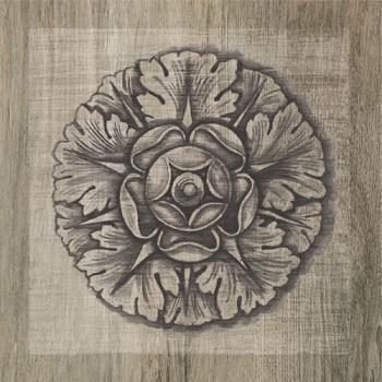 Керамические декоры Iris FRENCHWOODS Frieze Elm Formella 20x20
