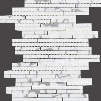 Керамическая мозаика L'antic Colonial Mosaics Collection мозаика	L241710231 Lines Safary Mini Strip Grey	22,7x30