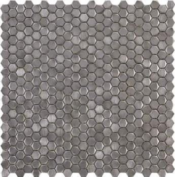 Керамическая мозаика L'antic Colonial Mosaics Collection мозаика	L241712641 Gravity Aluminium Hexagon Metal	31x31