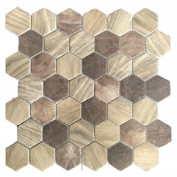 Керамическая мозаика ORRO Mosaic Orro ceramic Timber Natural 28x32,5