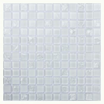 Стеклянная мозаика ORRO Mosaic Orro Glass White Crush 30x30