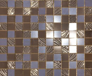 Керамические декоры Paul Ceramiche СД138 Декор PAUL SKYFALL PSFM06 mosaico 25*30 brown 2,5*2,5