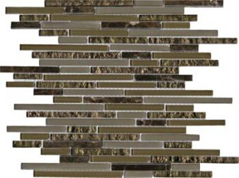 Настенная плитка  L'antic Colonial Mosaicos Eternity Mini Strip Emperador 29,7x29,7