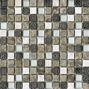 Настенная плитка  L'antic Colonial Mosaicos Tecno Quarz Emerald (2,1x2,1) 29,6x29,6