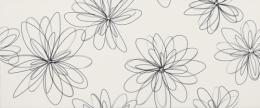 Dec.POP FLOWER BIANCO LUCIDO 659F0RE 25x60