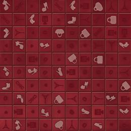 Mosaico CHIC RED (3x3) I310H3X 31.5x31.5